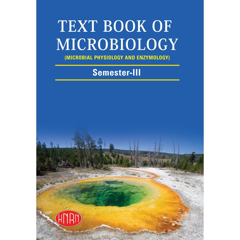 Text Book Of Microbiology (Microbial Physiology and Enzymology) Semester-3