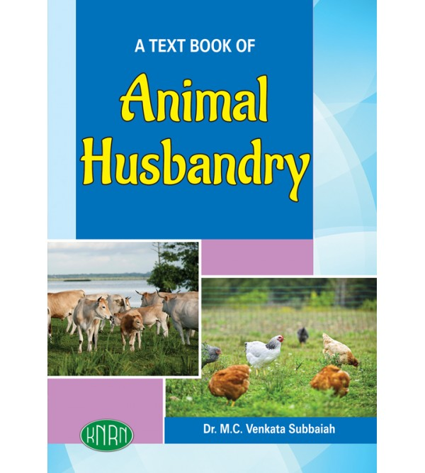 A TEXT BOOK OF ANIMAL HUSBANDRY